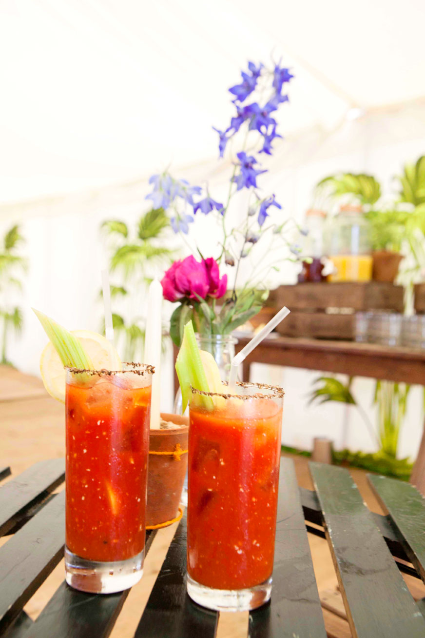 Bloody Mary's by the Orchard Bar