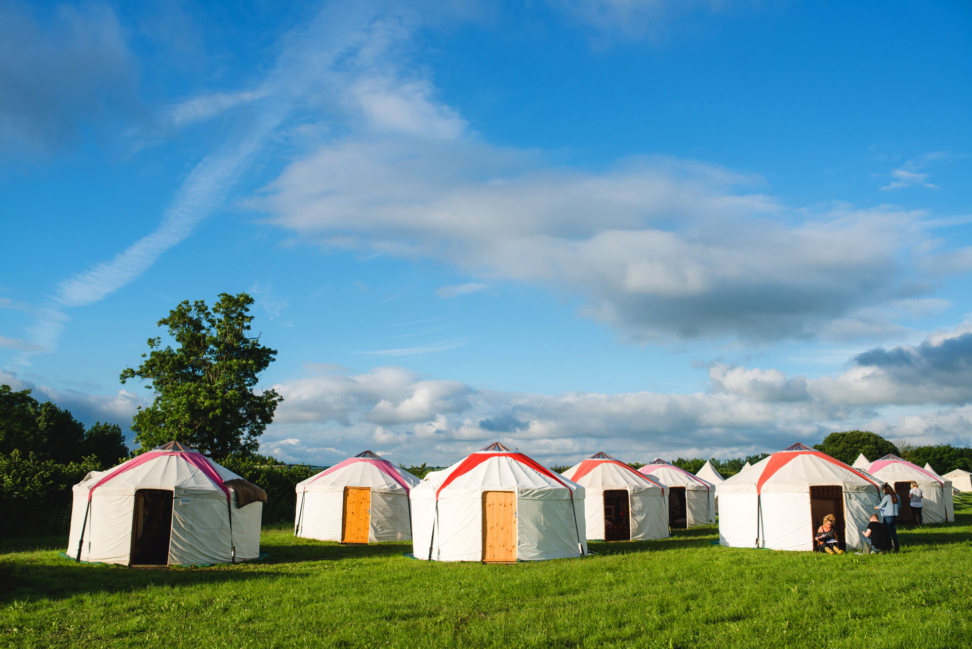 Luxury Yurts at Pennard Orchard